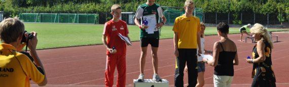 Leichtathletikabteilung richtet erfolgreich Deutsche Schülermeisterschaften aus