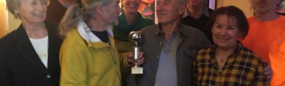 Geher des Jahres 2019: Wanderpokal wieder an Wolf-Dieter Giese